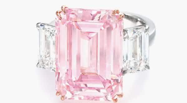 Perfect Pink Diamond entre os aneis mais caros ja feitos