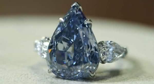 The Winston Blue entre os aneis mais caros ja feitos