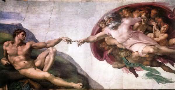 criacao de adao entre as pinturas mais famosas do mundo