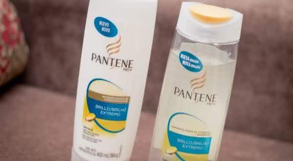 shampoo pantene entre as marcas de shampoo mais vendidas do mundo