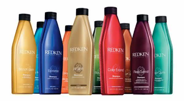 shampoo redken entre as marcas de shampoo mais vendidas do mundo