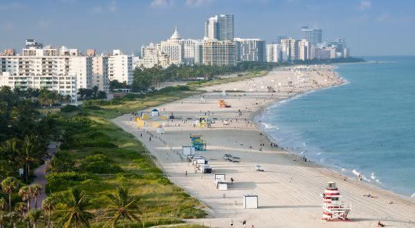South Beach entre as melhores praias urbanas do mundo