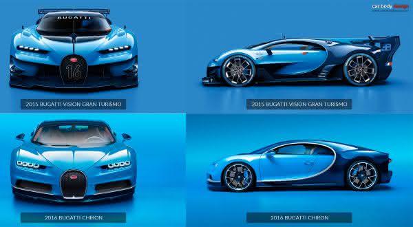 Bugatti Vision entre as coisas que voce deve saber sobre o novo Bugatti Chiron