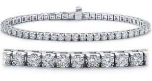 Diamond 18K White Golds entre as pulseiras mais caras do mundo