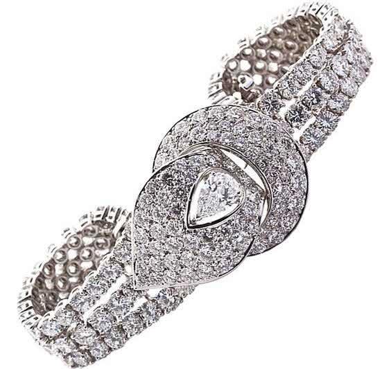 Diamond Bracelet gerard entre as pulseiras mais caras do mundo