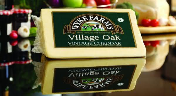 Wyke Farms Vintage Cheddar  entre os queijos mais caros do mundo