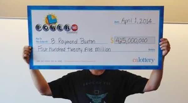 425 entre os maiores premios de loterias