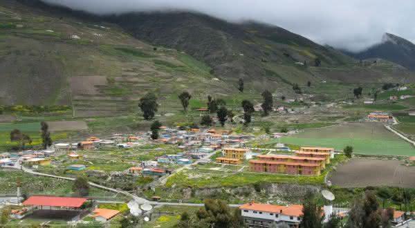 Apartaderos entre as cidades de maior altitude no mundo