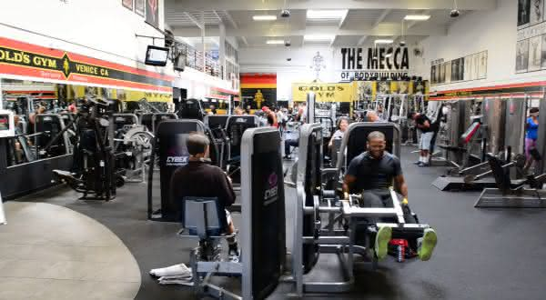 gold's gym entre as academias mais caras do mundo
