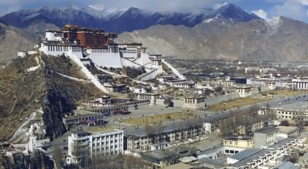 Lhasa entre as cidades de maior altitude no mundo