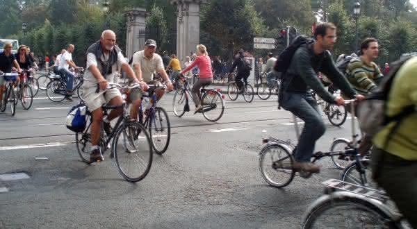 belgica entre os países com mais bicicletas por habitantes