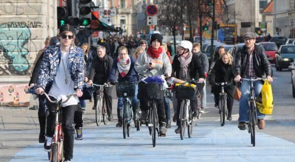 dinamarca entre os países com mais bicicletas por habitantes