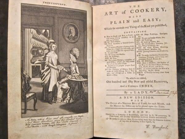 art of cookery  entre os livros de receitas mais caros