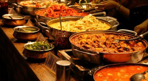 india entre os países com as melhores comidas do mundo