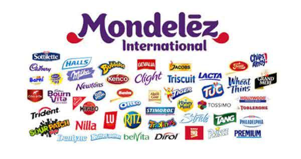 mondelez entre as maiores empresas de produtos de consumo do mundo
