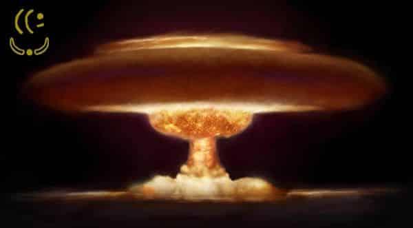 bomba de hidrogenio entre as armas de destruição em massa mais perigosas