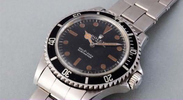 Steve McQueen 1967 Rolex Submariner entre os relogios rolex mais caros do mundo