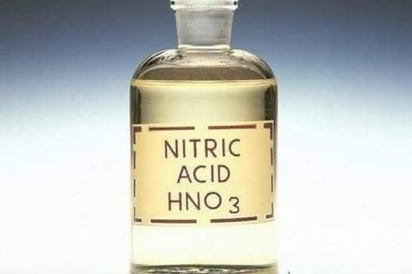 acido nitrico entre os acidos mais fortes do mundo