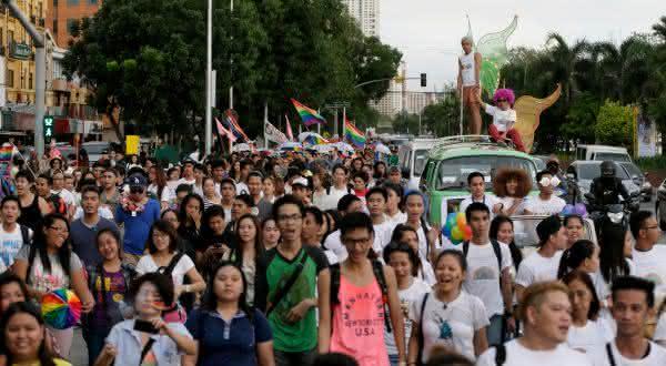 Filipinas entre os países com maior população gay do mundo
