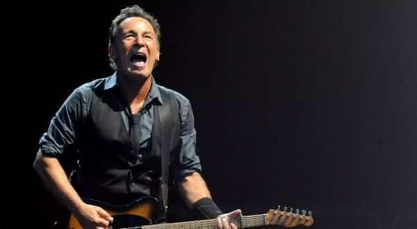 Bruce Springsteen entre os melhores cantores de todos os tempos