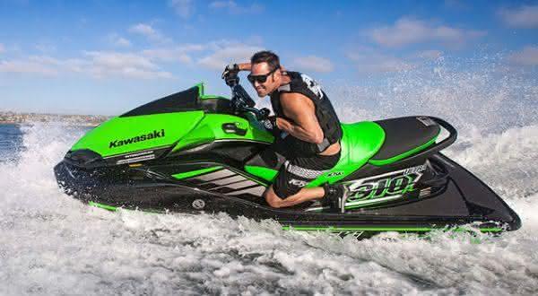 Kawasaki Jet Ski Ultra 310R entre os jetskis mais caros do mundo