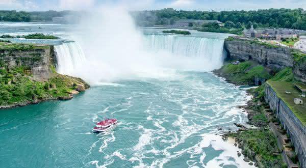 Niagara Falls entre as cachoeiras mais bonitas do mundo