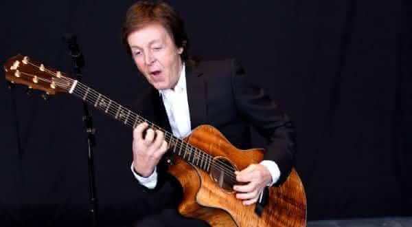 Paul McCartney entre os melhores cantores de todos os tempos