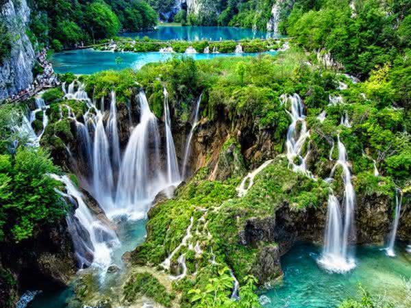 Plitvice Falls entre as cachoeiras mais bonitas do mundo