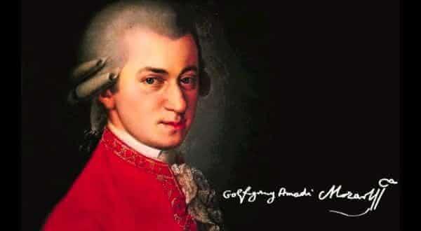 Wolfgang Amadeus Mozart entre os maiores compositores de todos os tempos