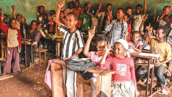etiopia entre os paises com maior taxa de analfabetismo