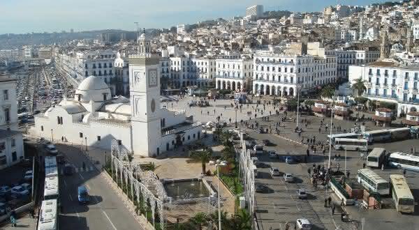 Argelia entre os paises menos chuvosos do mundo