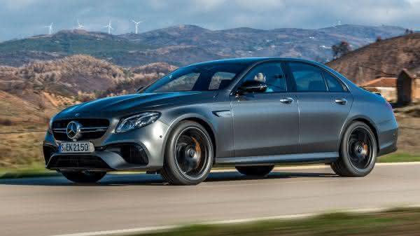 Mercedes E63S 4Matic entre os sedan 4 portas mais rapidos do mercado