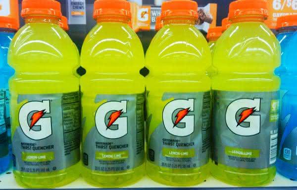 gatorade entre os refrigerantes mais vendidos no mundo