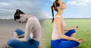 meditar entre as maneiras de superar o desanimo
