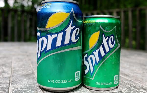 sprite entre os refrigerantes mais vendidos no mundo
