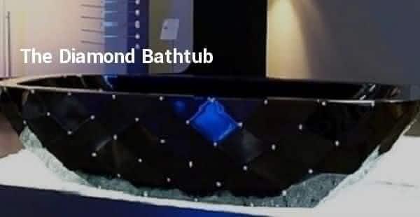 the diamond entre as banheiras mais caras do mundo