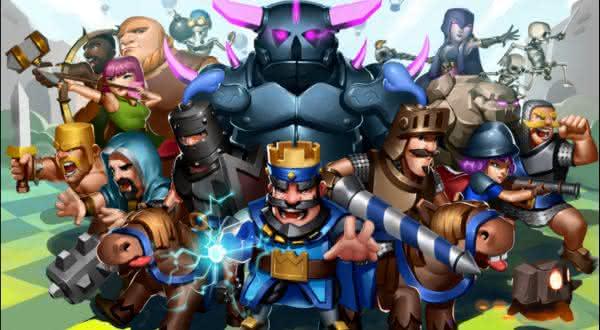 Clash Royale entre os jogos de celular de maior sucesso de todos os tempos