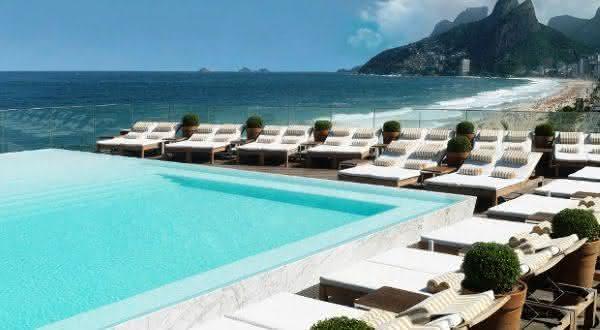 Fasano Rio de Janeiro entre os melhores hotéis do rio de janeiro