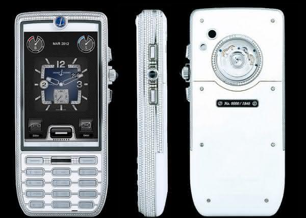 Ulysse Nardin Chairman Diamond entre os smartphones android mais caros do mundo