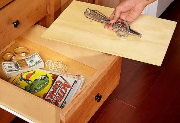 Top 10 lugares seguros para esconder objetos de valor em sua casa 1