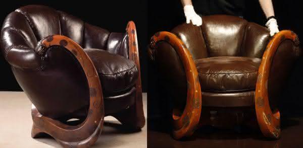 dragon chair entre as cadeiras mais caras do mundo