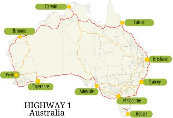 highway 1 entre as estradas mais longas do mundo