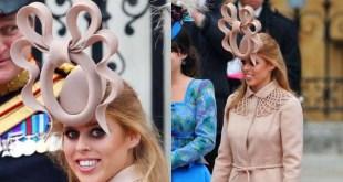 philip treacy princess beatrice hat entre os chapeus mais caros do mundo