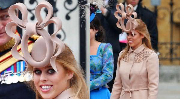philip treacy princess beatrice hat entre os chapéus mais caros do mundo