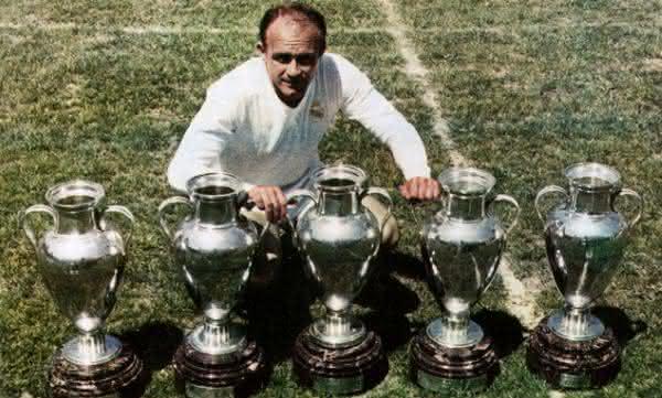 Alfredo Di Stefano entre os maiores jogadores do Real Madrid de todos os tempos