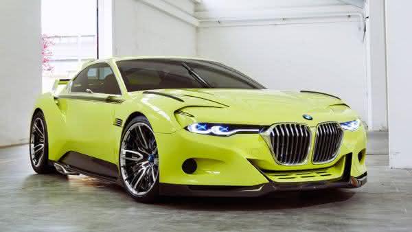 BMW 3 CSL HOMMAGE CONCEPT entre os carros mais caros da bmw
