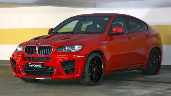 BMW X 6 G-POWER TYPHOONS S entre os carros mais caros da bmw