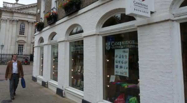 Cambridge University Press entre as empresas mais antigas em atividade no mundo