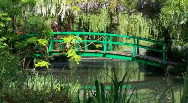 Claude Monets Garden entre os jardins mais bonitos do mundo