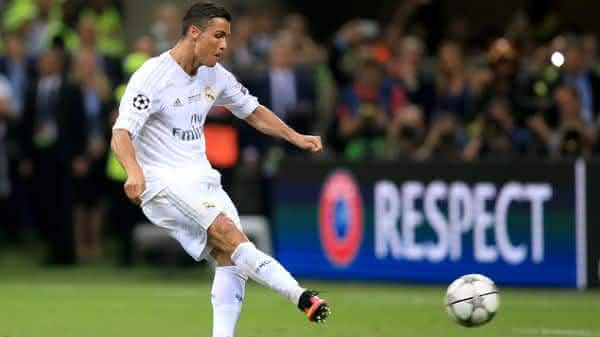 Cristiano Ronaldo entre os melhores cobradores de penaltis de todos os tempos